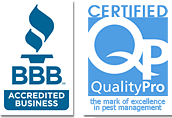 BBB logo and Certified Quality Pro Logo